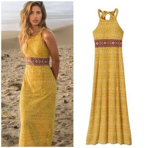 Prana Skye Marigold Dress